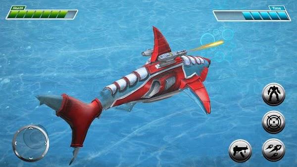 Robot Shark v2.3 Para Ve Duvardan Geçme Hileli APK