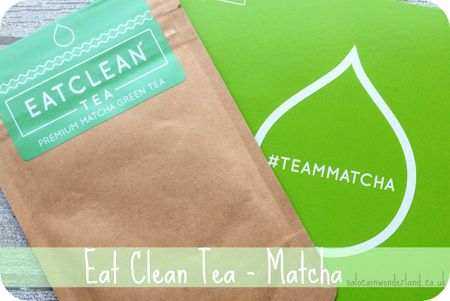eat clean tea matcha detox drink