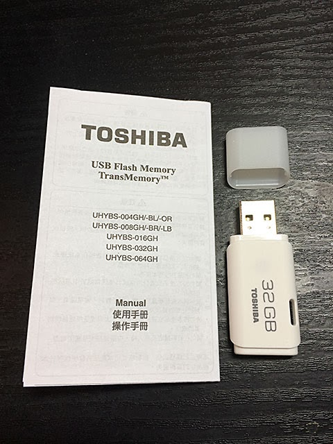 TOSHIBA USB FLASH MEMORY 32GB