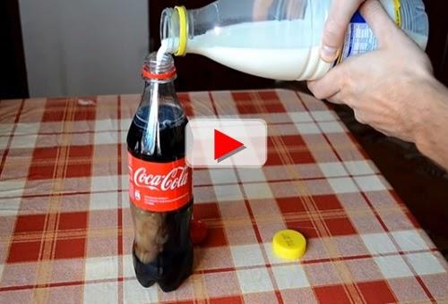Coca Cola campur susu