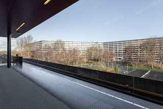 Foto Stijn Spoelstra. Obra deFlat Kleiburg  a Amsterdam -Països Baixos