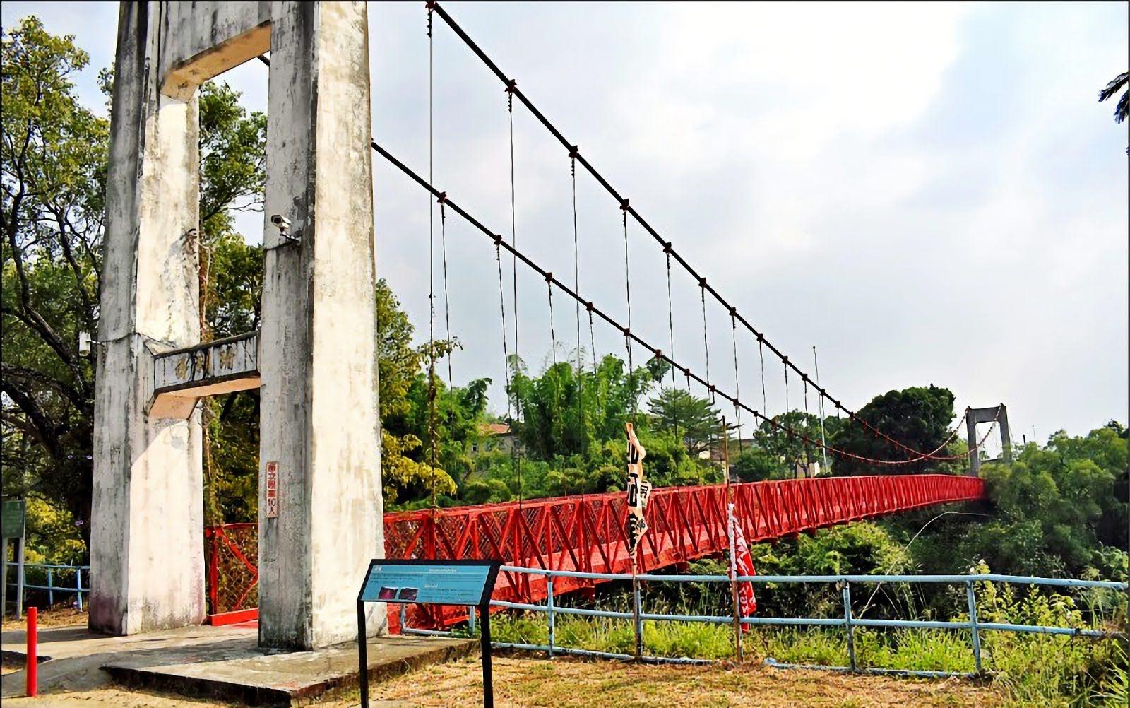 封閉十年終於開通!烏山頭水庫跨虹吊橋2020元旦恢復通行