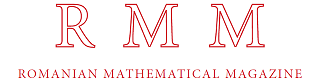 Romanian Mathematical Magazine problem collections