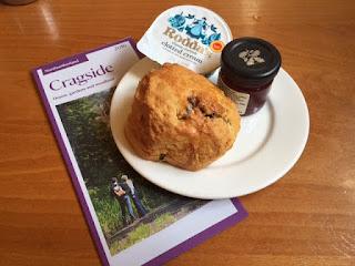 Cragside scone