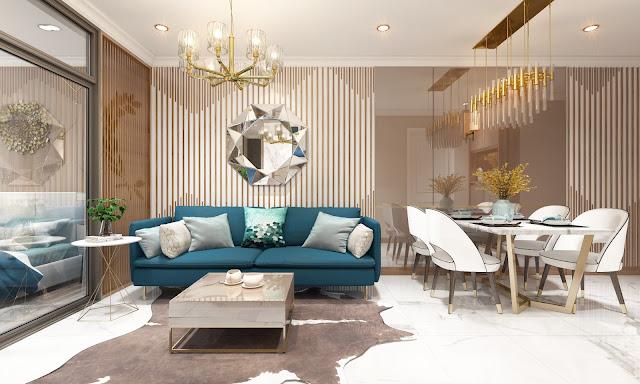 Thiết kế mẫu một căn hộ tại D'.El Dorado 2
