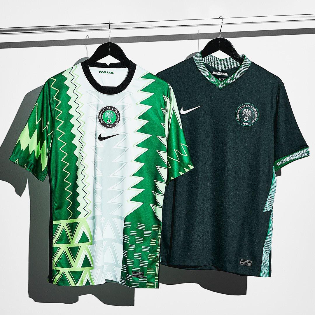 petróleo profesor En contra  Nike Nigeria 2020-21 Home & Away Kits Released - Now Available Everywhere -  Footy Headlines