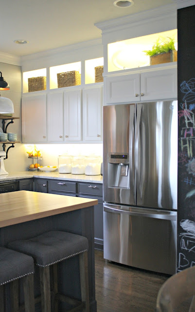DIY cabinet lighting tutorial