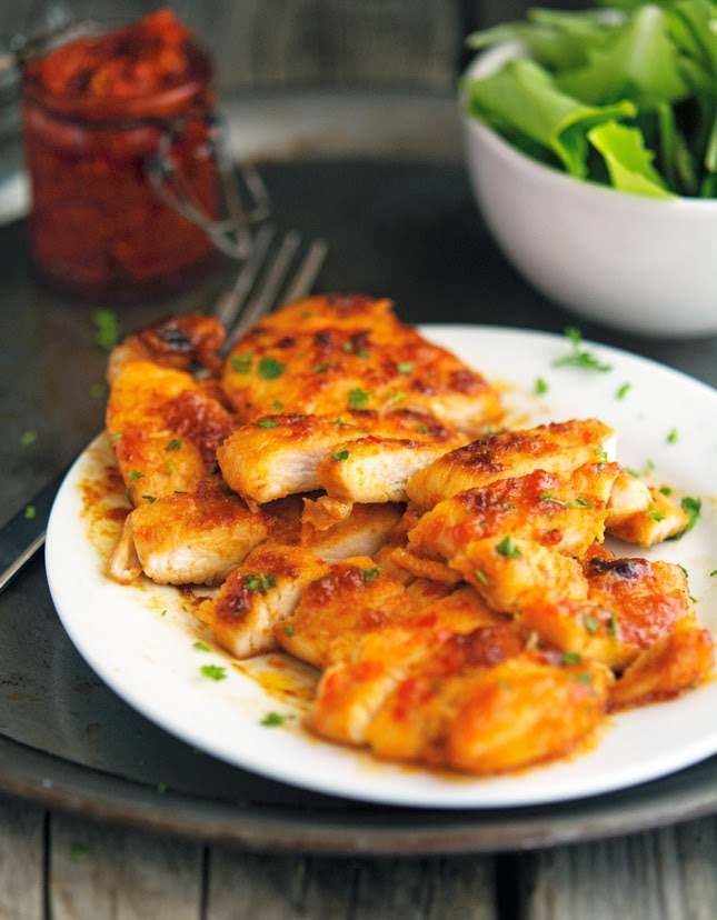 Sticky Harissa Chicken