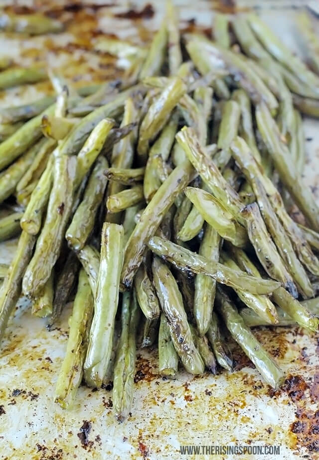 Roasted Balsamic Green Beans Recipe (Best Way to Cook Fresh Green Beans)