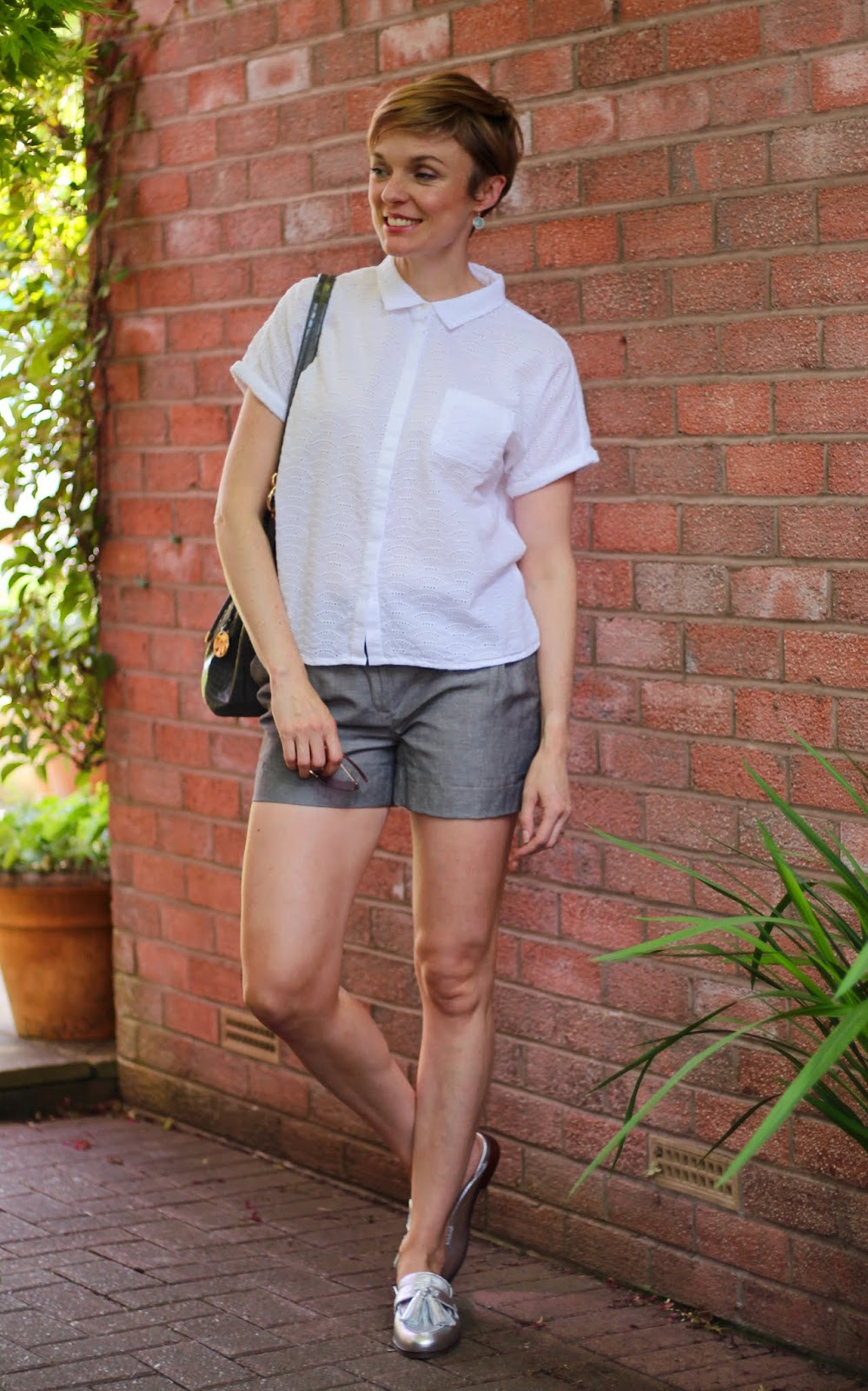 Hot Weather Work Outfit | Fake Fabulous