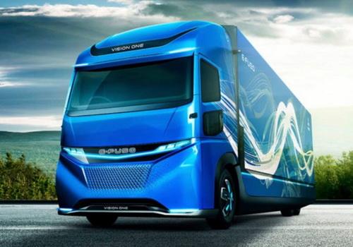 Tinuku Daimler AG unveils Mitsubishi E-FUSO Vision One