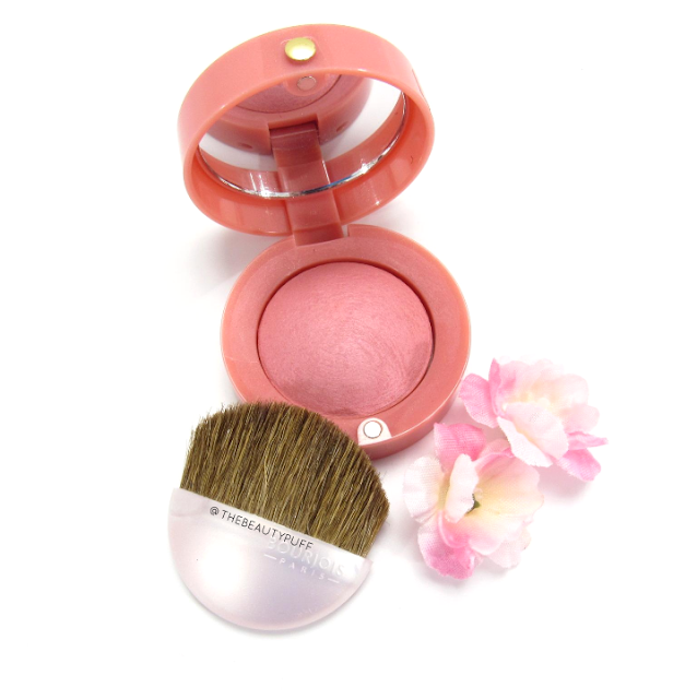 bourjois rose frisson blush - the beauty puff