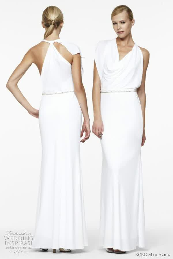 Look Less ; BCBG Wedding Dress @Nordstrom | bridal wedding ideas
