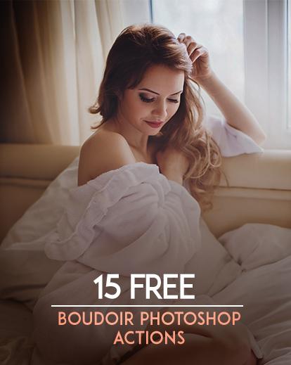 15 Free Boudoir Photoshop Actions