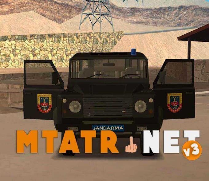 MTA SA Land Rover Defender Jandarma