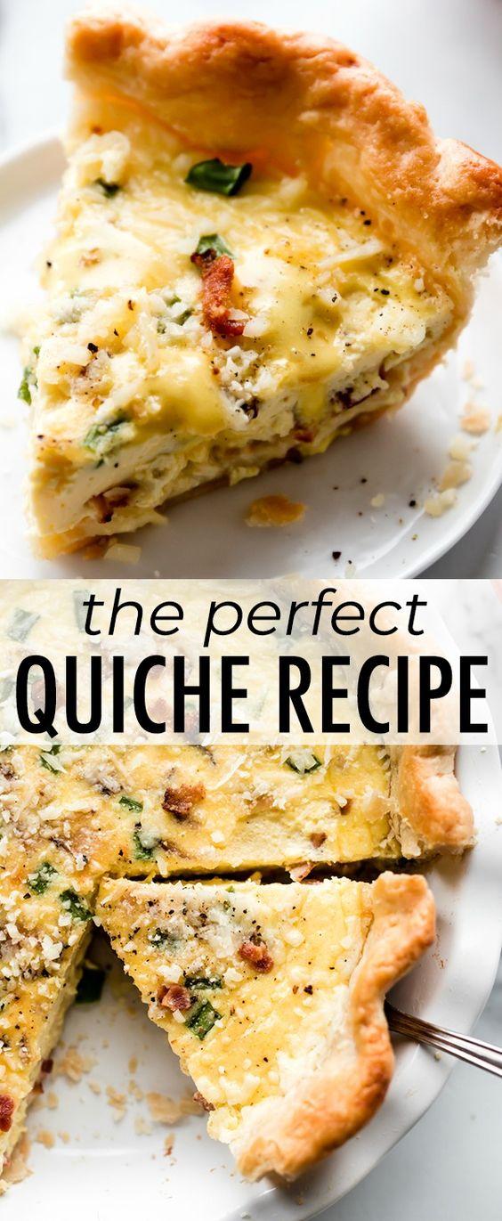 The Perfect Quiche Recipe
