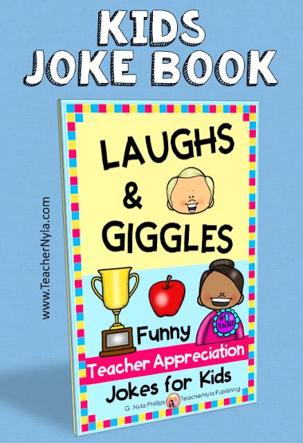 Teacher Appreciation Week joke book for kids