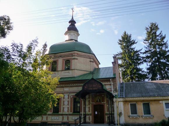 Киев. Китаево. Храм святого Серафима Саровского