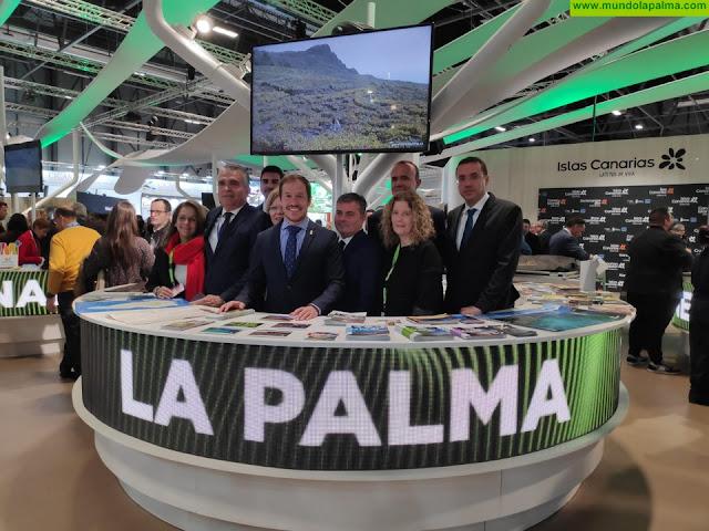 La Palma en presente en FITUR 2020