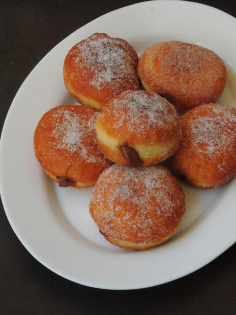 Nutella Doughnuts, Nutella Filled Donuts