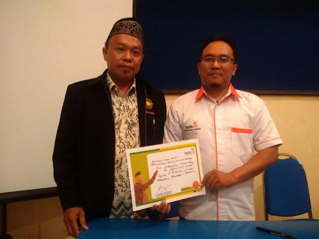 Ketua PDM Jember dan Direktur Lazismu Jember