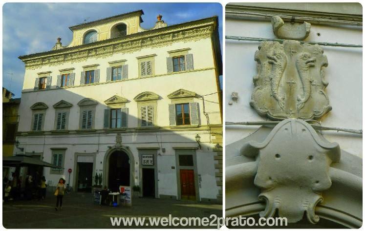Palazzo Bocchineri - Prato - Simbolo - Pazzi