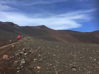 A Maui, se promener dans le cratère du volcan