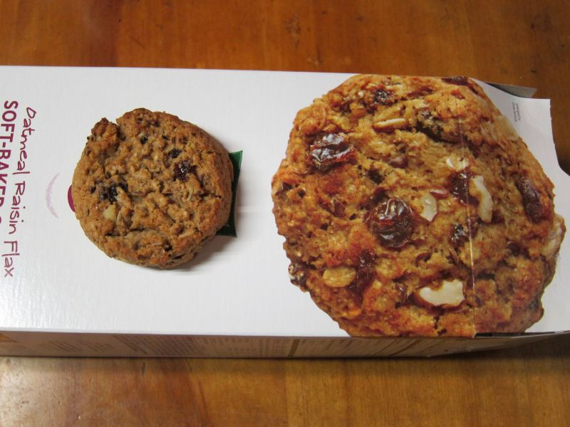Review: Kashi - TLC Oatmeal Raisin Flax Cookies | Brand Eating
