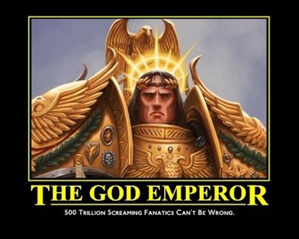 Atomic Warlords: Happy Birthday, God-EmperorWarhammer 40k Chaos Gods Names