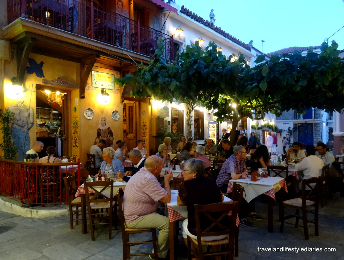Skiathos Greece Fresh Pasta Dinner At La Cucina Di Maria Travel And Lifestyle Diaries Just Blogging My Life Away