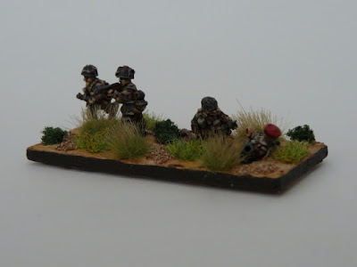 1st place: British Para's, by BH62 - wins £20 Pendraken credit, and and a goodie bag from Warbases!