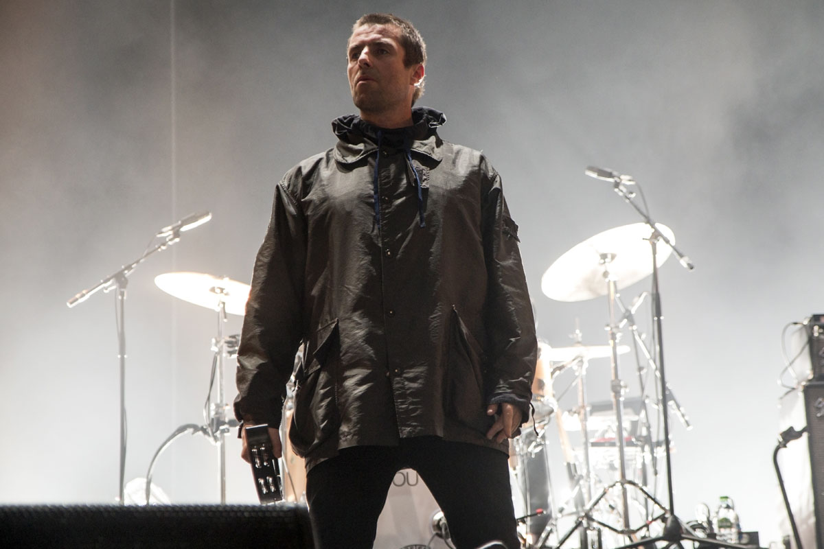 Liam Gallagher taken by music photographer Ashley Laurence, originally shot for Brighton Source magazine
