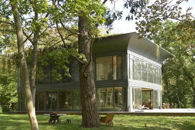 แบบบ้านสองชั้นโครงสร้างเหล็ก