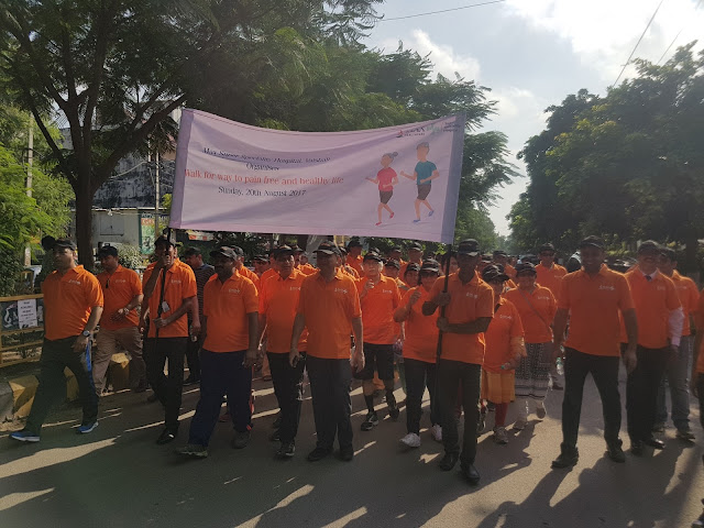Max Hospital Vaishali organizes Ortho Walkathon