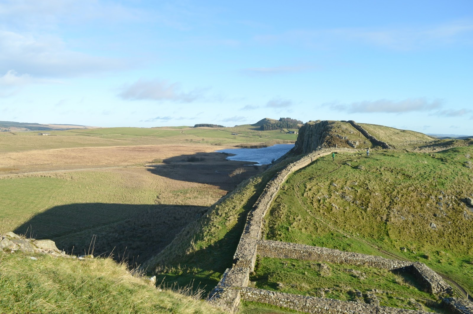 Walking Hadrian's Wall Winter