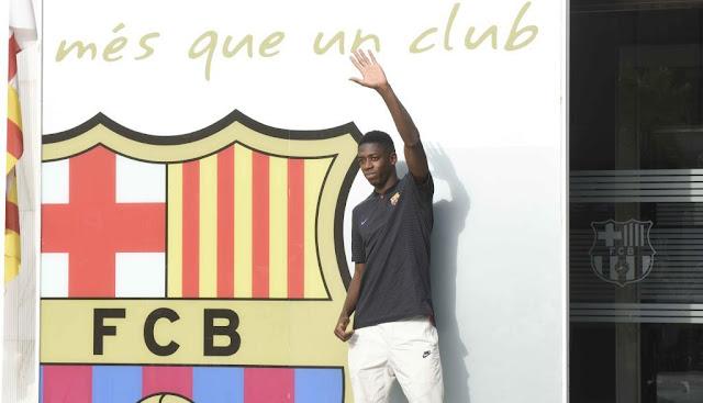 Cầu thủ đắt giá thứ 2 thế giới tươi rói đến Barca 4