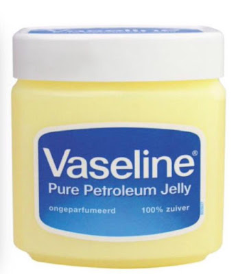 keep nail polish from running onto your cuticles with petroleum jelly by barbies beauty bits