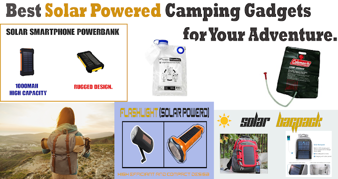 Best Solar Powered Camping Gadgets for Your Adventure