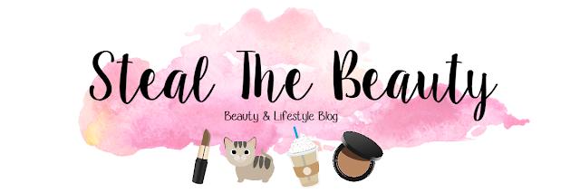 Steal The Beauty Blog, Custom Blog Header