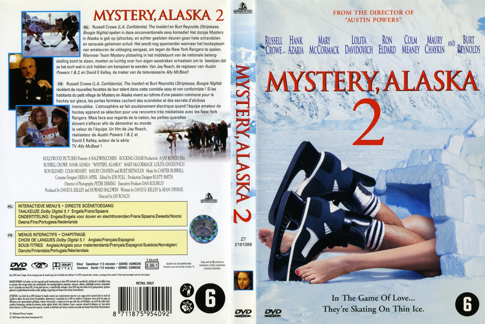 Dirty Dangle Hockey: Unmade Movie Sequels: Mystery, Alaska 2