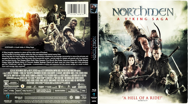 Northmen - A Viking Saga Bluray Cover