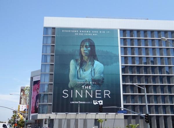 Jessica Biel Sinner billboard