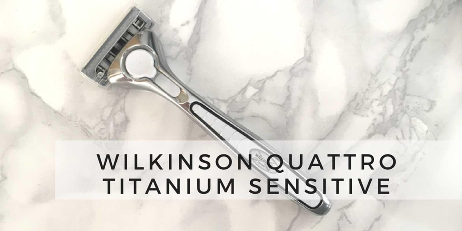 Maszynka Wilkinson quattro titanium sensitive