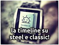 Pebble OS 3.8 e Timeline sui Vecchi Pebble