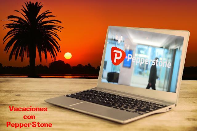 Vacaciones  con PepperStone