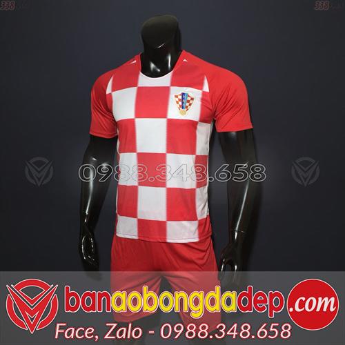Áo Croatia đỏ sân nhà 2019
