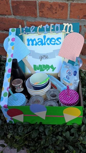 Eisgeschenkbox für Kinder
