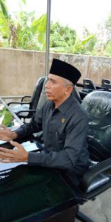 <b>Wakili Lembaga Dewan, H Didik Minta Ma&#39;af Atas Insiden Tertangkapnya HM</b>