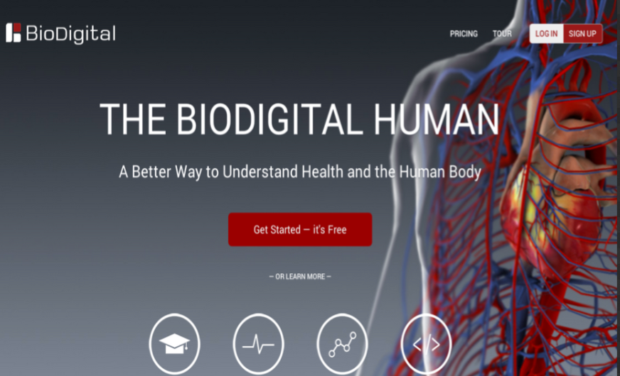 Great Websites to Teach Anatomy of Human Body in 3D | Educational ...