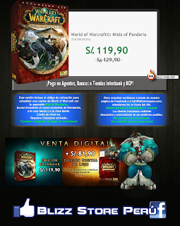 Mists of Pandaria World of Warcraft en Perú